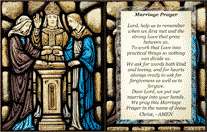 Marriage Holy Card (2 per page)
