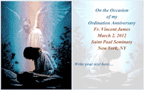 Ordination Anniversary Card 3 (2 per page)