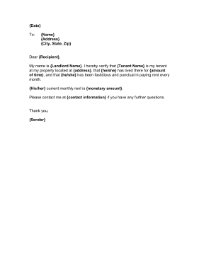 proof of residency letter landlord proof of residency template 1553