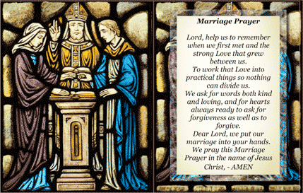 Marriage Holy Card (2 per page) Business Form Template