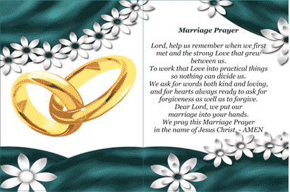 Matrimony Holy Card (2 per page) Business Form Template
